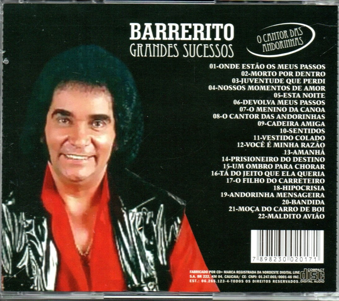 BARRERITO CD DE GRATIS O BAIXAR