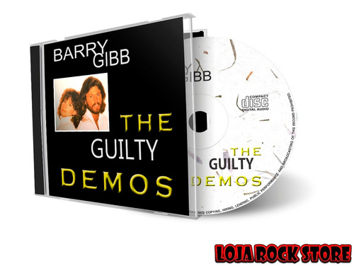 cd - barry gibb the guilty demos