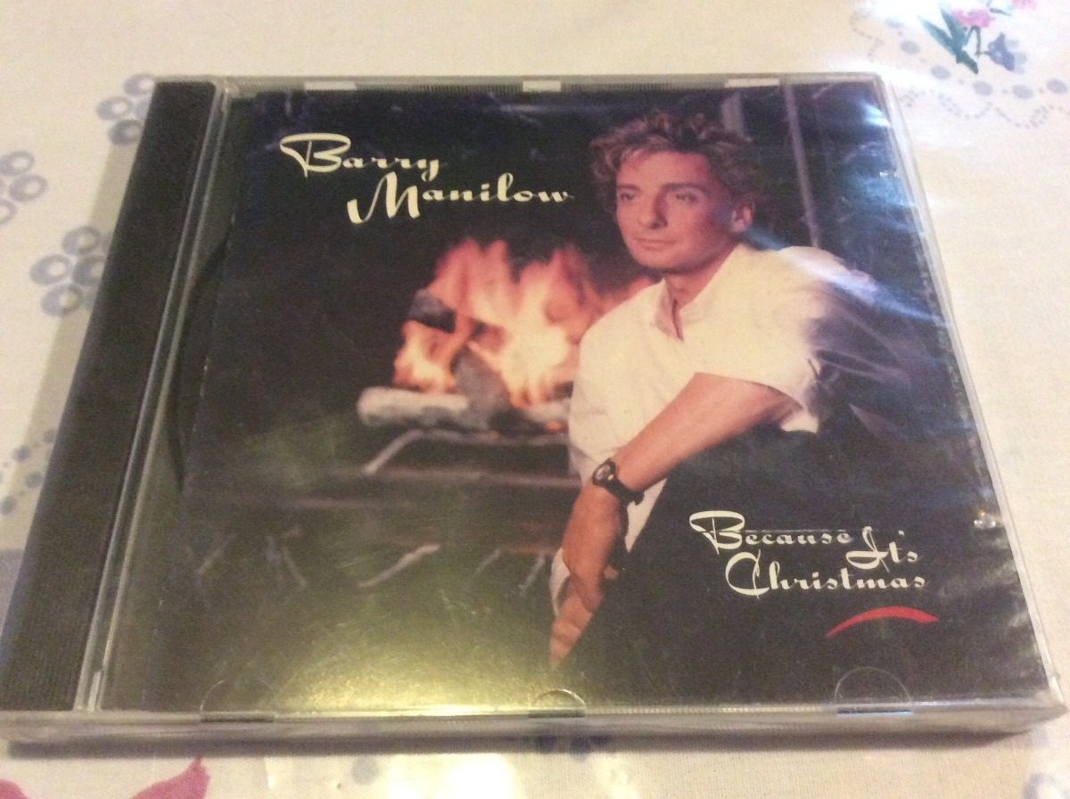 Cd Barry Manilow Because Its Christmas - $ 130.00 en Mercado Libre