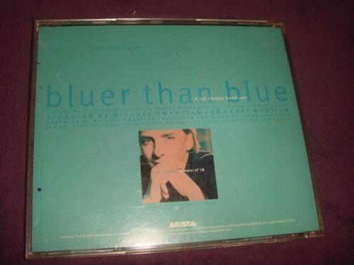 cd barry manilow / bluer than blue - single promo