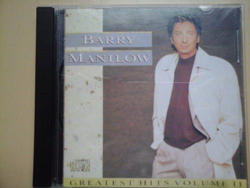 cd barry manilow excelente estado