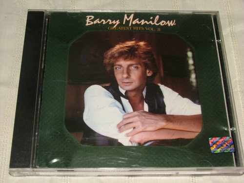 cd barry manilow - greatest hits volume 2 (ships, memory)