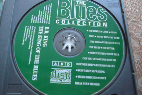 cd b.b. king the blues collection