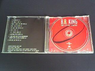 cd b.b. king the living legend  (original)