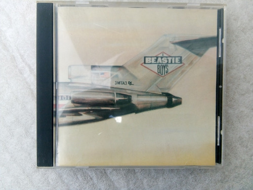 cd beastie boys - licenced to ill