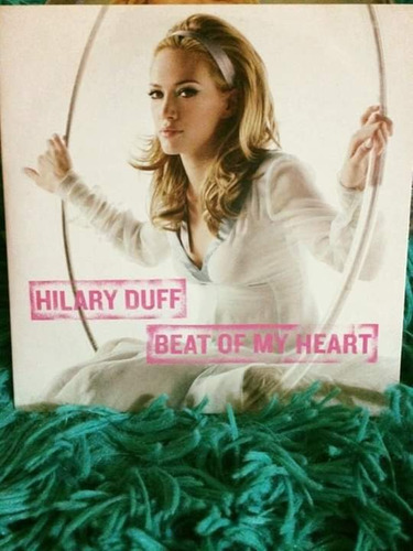 cd beat of my heart - hilary duff (sencillo / single)