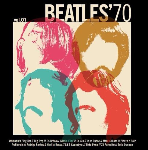 cd beatles '70 vol. 01 (vários artistas) cássia eller