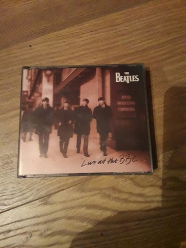 cd beatles live  ant the bbc
