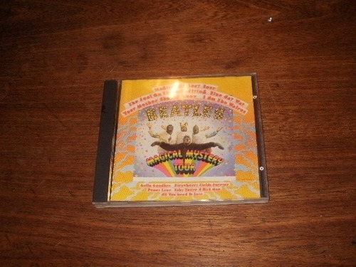 cd beatles magical & mistery tour