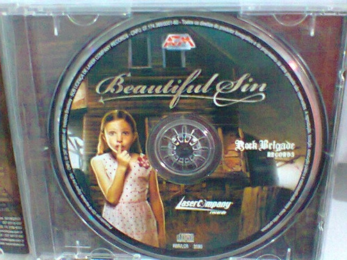 cd beautiful sin  / the unexpected      (frete grátis)