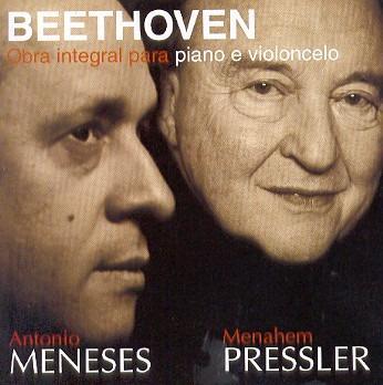 cd beethoven - obra integral para piano e violoncelo - duplo