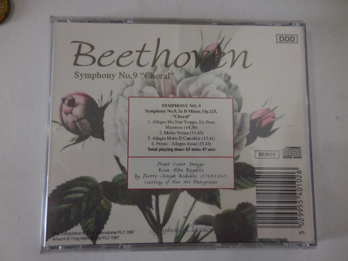 cd beethoven siymphony no 9