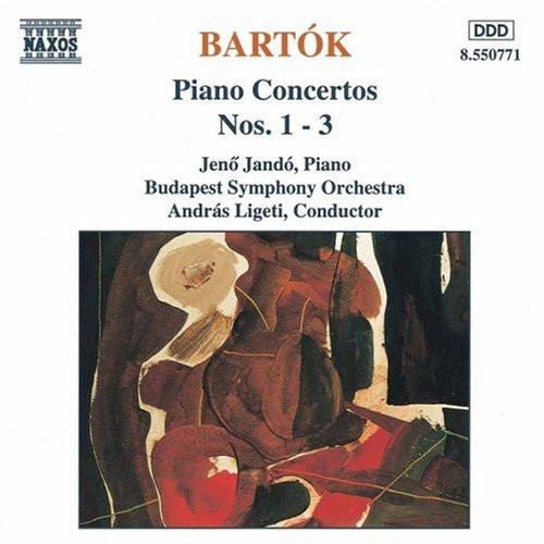 cd béla bartók - piano concertos nos. 1 - 3