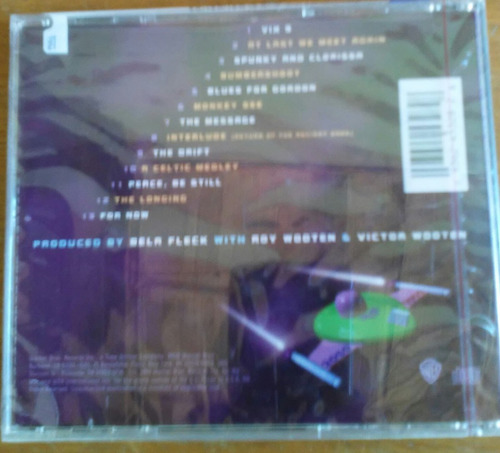 cd béla fleck and the flecktones three flew over  importado