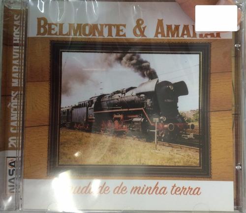 cd belmonte e amaraí - 20 canções maravilhosas (lacrado)