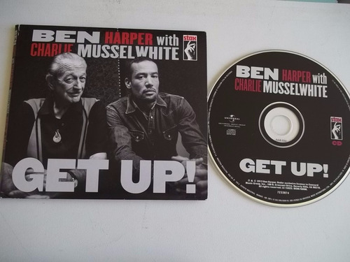 cd - ben harper with charlie musselwhite - get up!