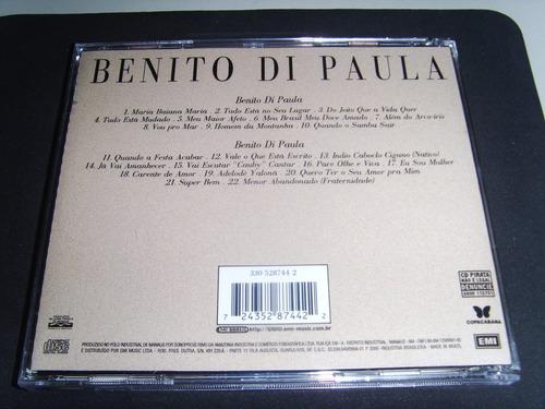 cd - benito di paula - dois em um