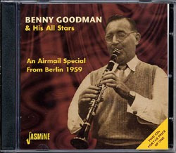 cd benny goodman & his stars - an airmail special from berli