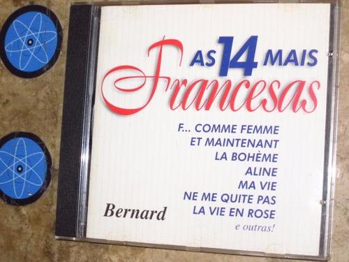 cd bernard - 14 mais francesas (1998)