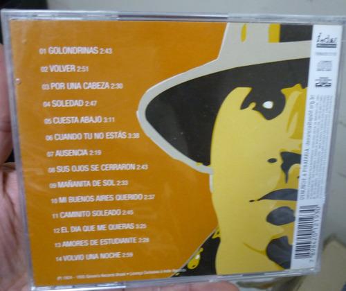 cd  best of carlos gardel - novo e lacrado - b305