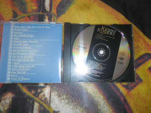 cd best of kenny rogers