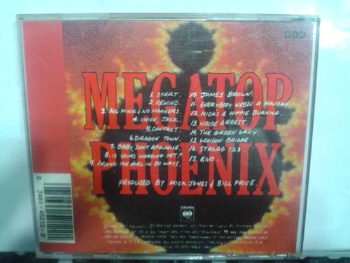 cd - big audio dynamite - megatop phonix