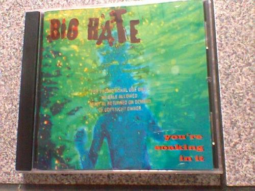 cd big hate  @  you´re soaking in..(importado)