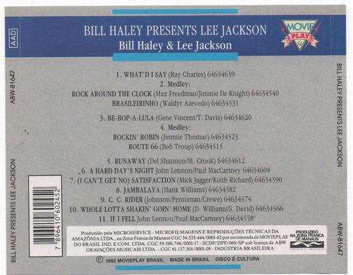 cd bill haley presents lee jackson - rock around the clock