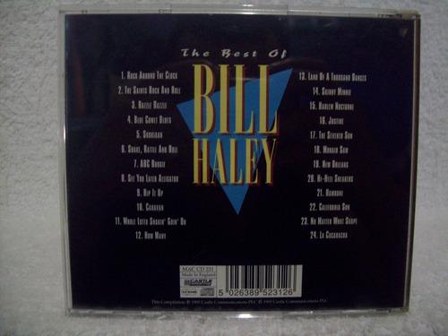 cd bill haley- the best of bill haley- importado