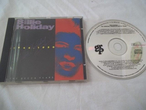 cd - billie holiday - blue / jazz