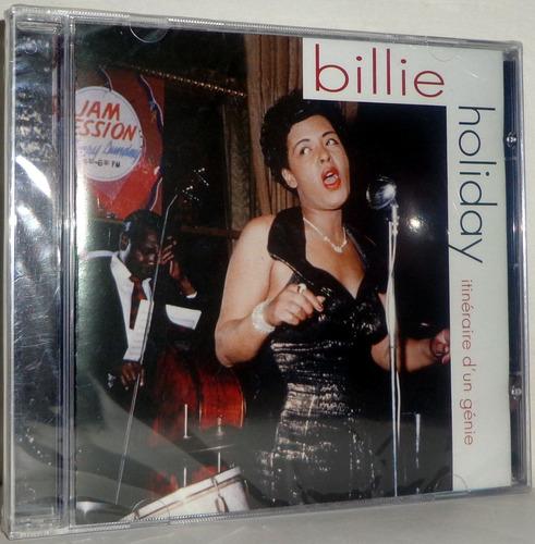 cd billie holiday - itineraire d'un genie