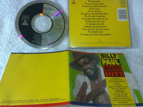 cd         billy  paul             greatest  hits