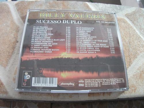 cd - billy vaughn dois em um