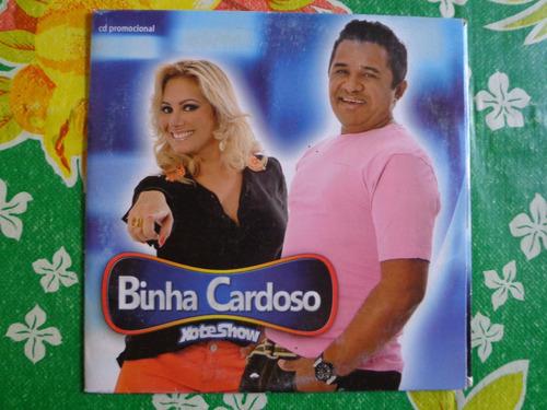 cd binha cardoso - promocional - frete gratis