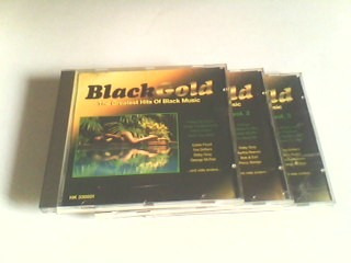 cd black  gold - the greatest hits  -  3 cds (rarissimo)
