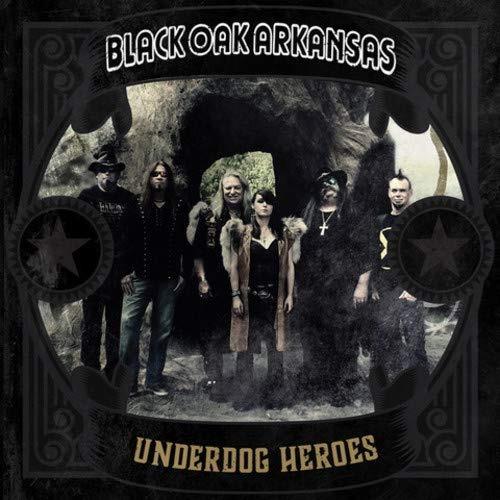 cd : black oak arkansas - underdog heroes (cd)