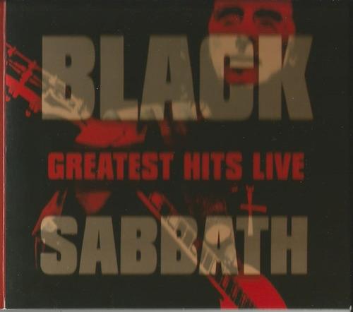 cd black sabbath greatest hits live