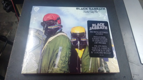 cd black sabbath never say die! importado en formato cd