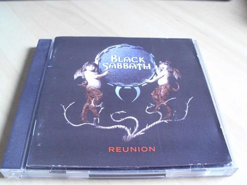 cd black sabbath - reunion - cd duplo