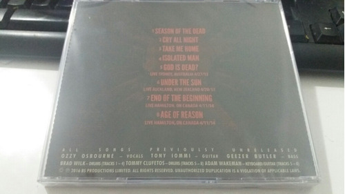 cd black sabbath the end lacrado