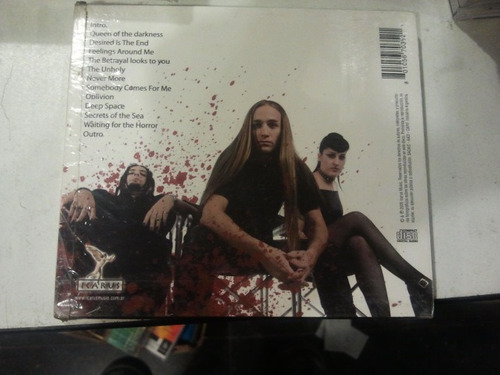 cd blood parade pain exposed año 2005 feelings around me