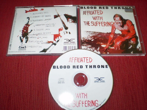 cd blood red throne - affiliated with the suffering deicide
