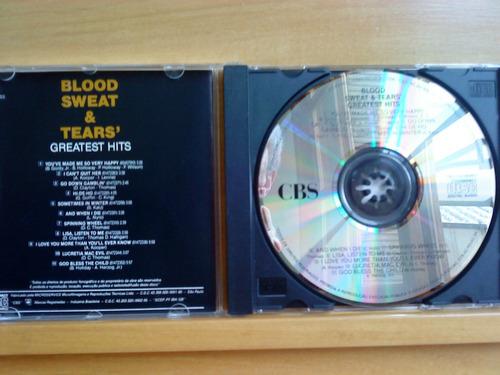 cd blood, sweat & tears greatest hits