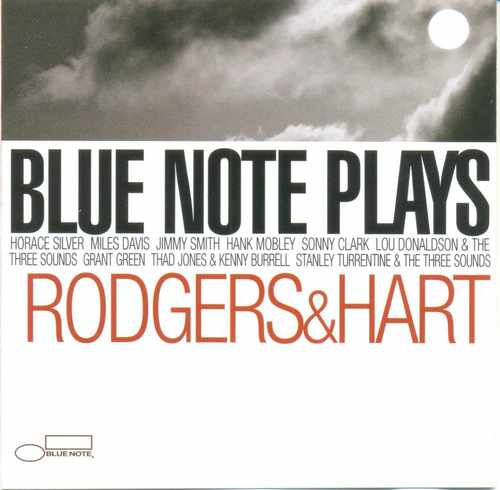 cd blue note plays - rodgers & hart