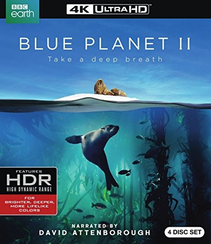 cd : blue planet ii (with blu-ray, 4k mastering, digital...