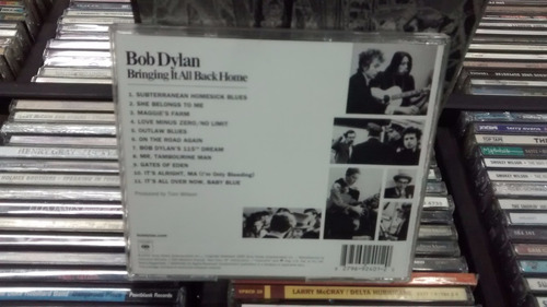 cd - bob dylan - bringing it all back home - imp - remaster