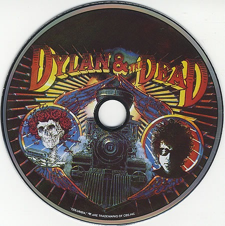 cd bob dylan & grateful dead (edição promo rara) cd picture