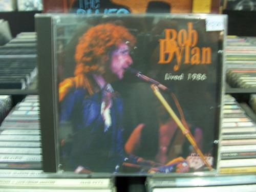cd - bob dylan - lived 1986 - importado