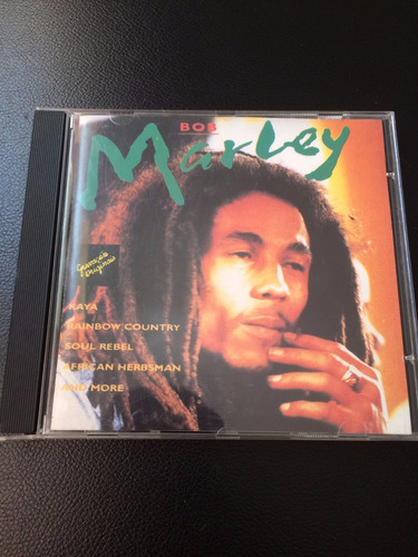 cd bob marley - best - otimo usado