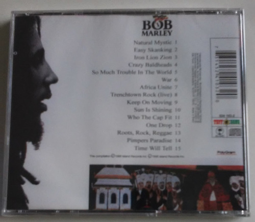 cd bob marley legend 2 natural mystic lacrado
